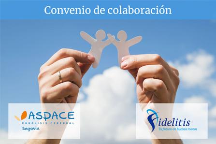 Convenio de colaboracion Aspace Fidelitis
